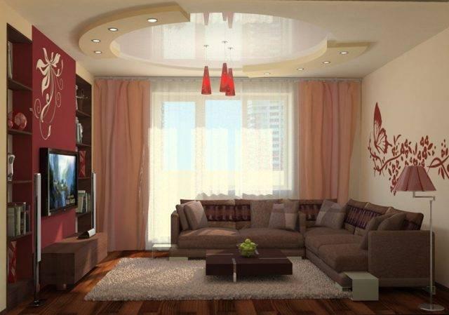 Дизайн зала в частном доме: 60 фото-примеров удачных решений