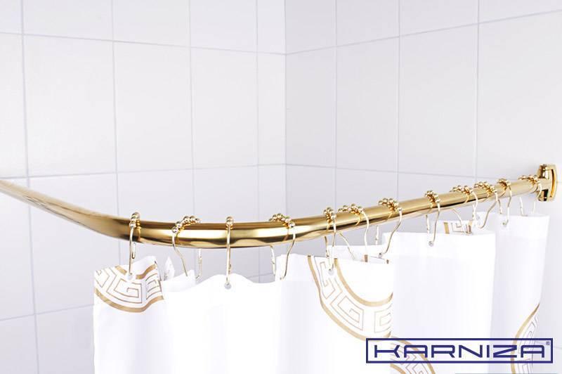 Как своими руками сделать угловой карниз для ванной?