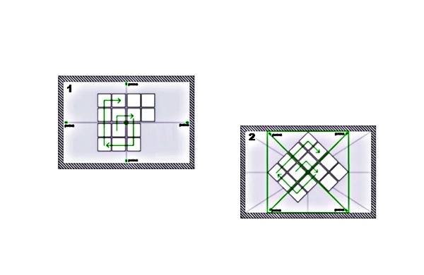 Потолочная плитка как клеить разные способы разметка и откуда начинать
