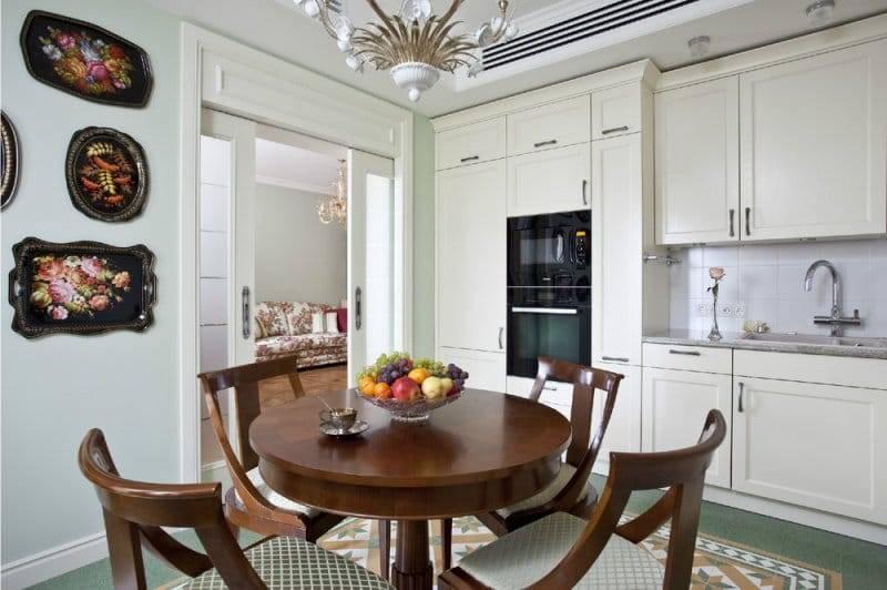 Обеденная зона на кухне: 170+ (фото) как выделить и оформить?