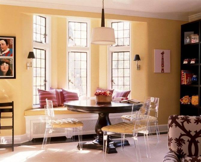 Кухни с эркером: дизайн и стилевые особенности, правила декорирования и интересные идеи