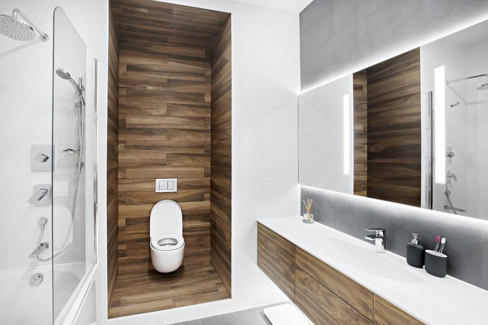 Современные идеи для дизайна ванных комнат