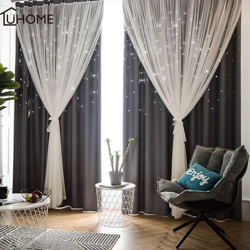 Модные шторы в гостиную 2020: новинки, тренды, фото