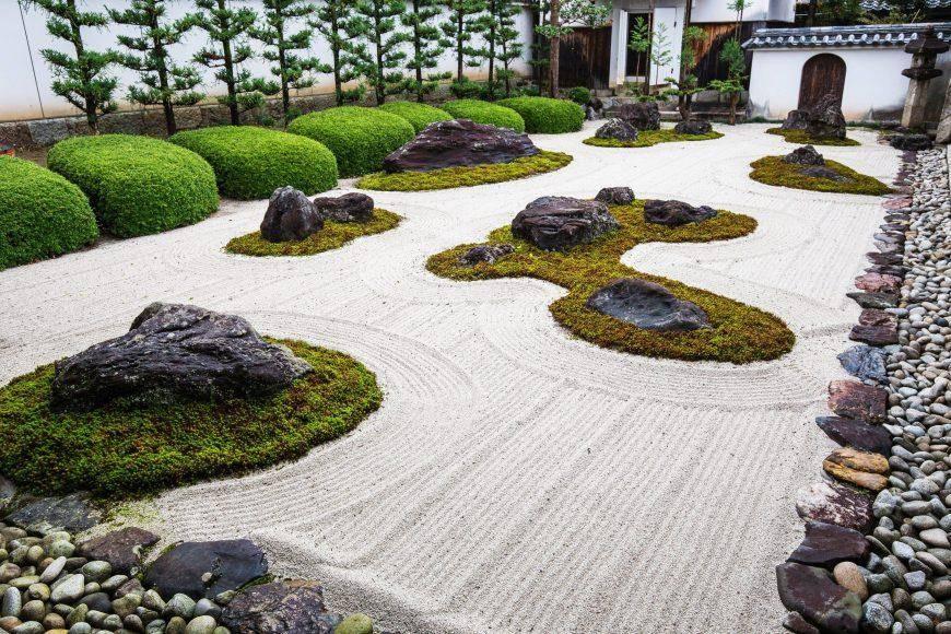 Сад в японском стиле: ландшафтный дизайн на даче - 16 фото