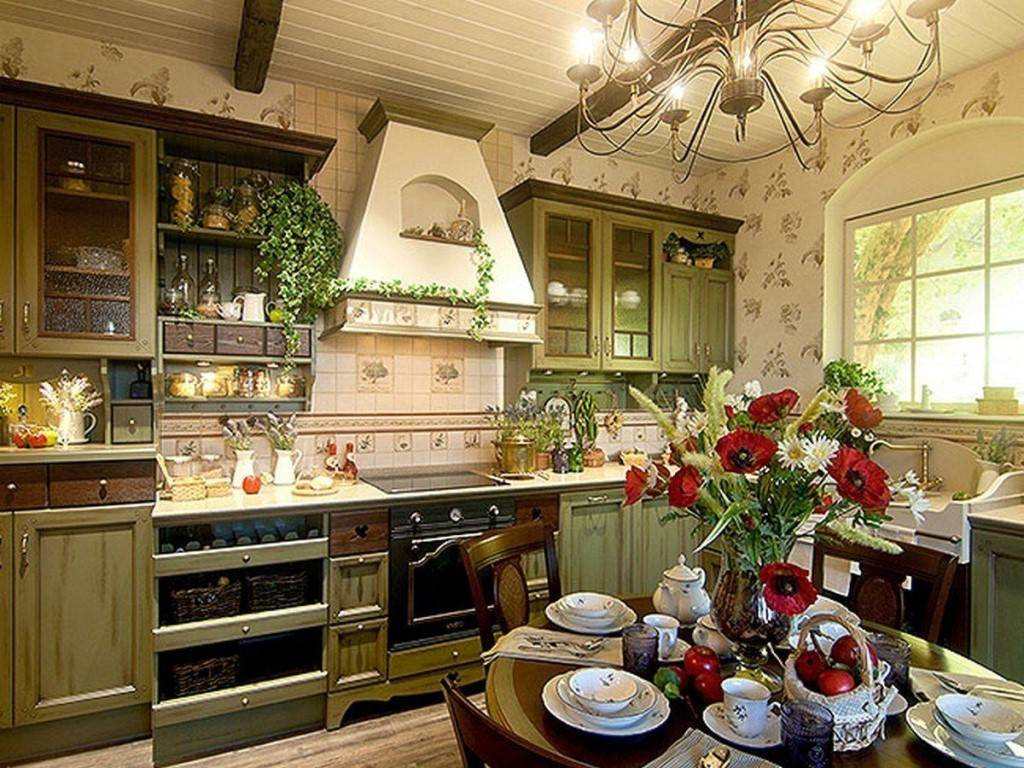 Кухня в деревенском стиле (74 фото): дизайн интерьера своими руками, выбор штор для маленькой комнаты в сельском стиле