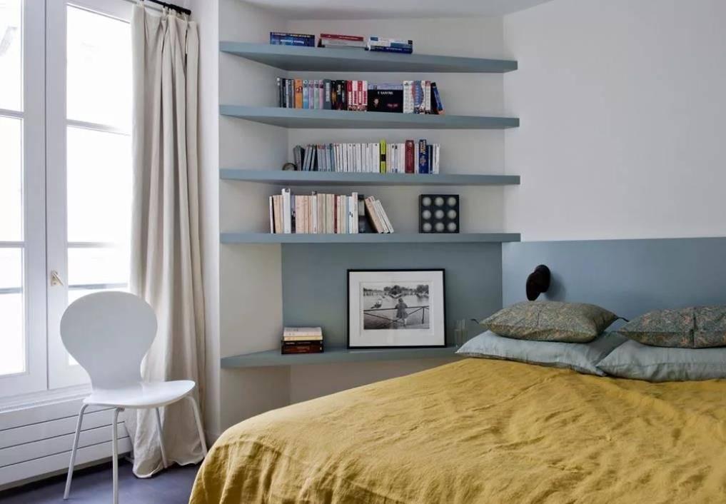 20 идей для хранения в спальне (фото)