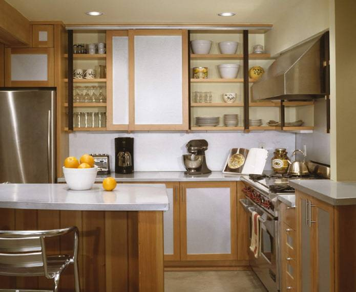 Угловая кухня: современный дизайн и лучшие угловые варианты кухонного интерьера (120 фото и видео)