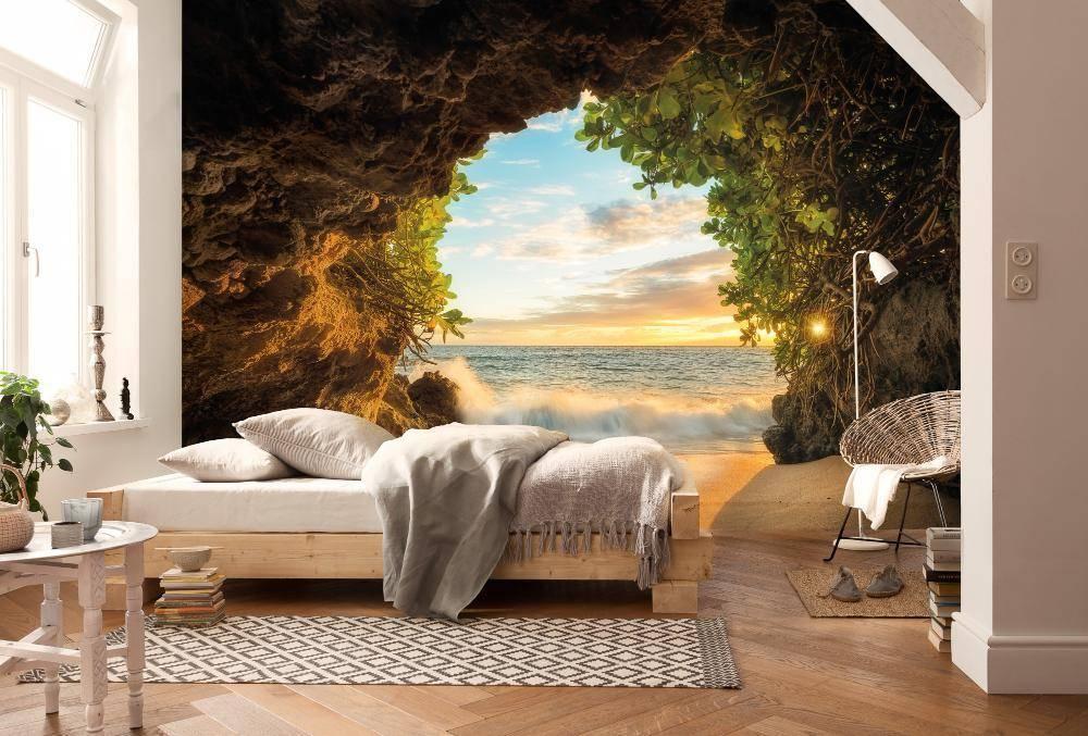 Интерьер комнат с фотообоями: фото-сюжеты, правила оформления