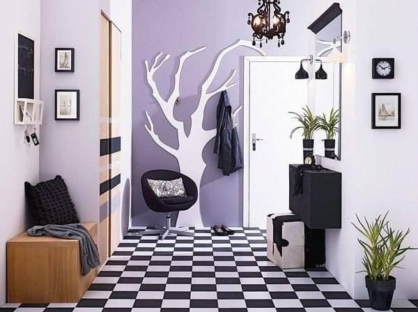 Темный коридор: советы по оформлению и интересные решения