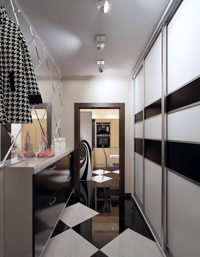 Тонкости дизайна узких коридоров: как зрительно увеличить пространство?