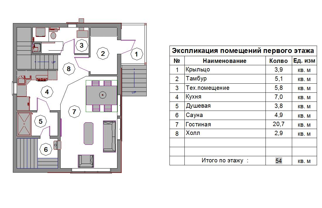 Экспликация - что это, поэтажный план и экспликация на квартиру, помещения, размеры, таблицы, гост, как получить из бти
