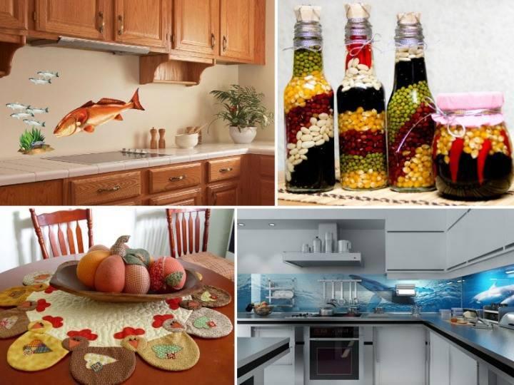 Декор кухни: несколько идей
