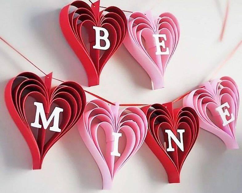 Украшение дома на день святого валентина или декор на 14 февраля своими руками
