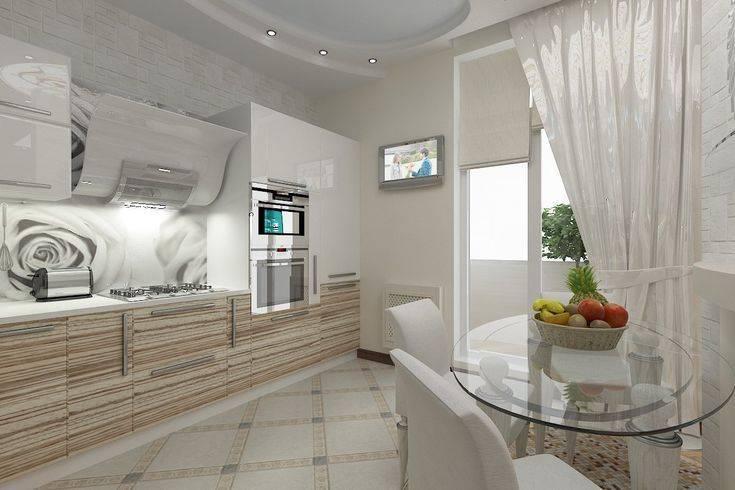Дизайн кухни в светлых тонах +75 фото