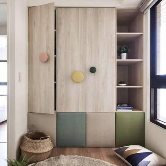 Встроенный распашной шкаф — устройство и правила выбора