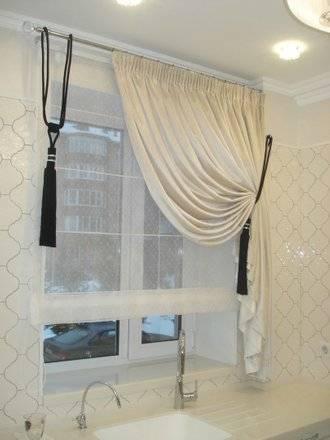 Дизайн штор для кухни: фото примеры от профессиональных дизайнеров