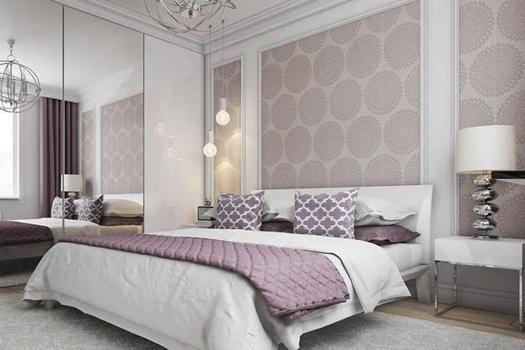 Обои для спальни: фото из каталога 2018 года