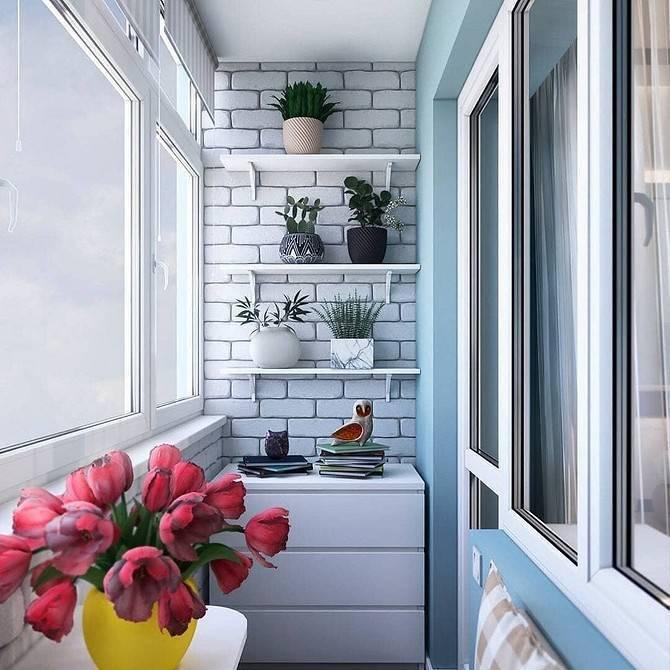 Дизайн маленького балкона +75 фото примеров интерьера - «интерьер балкона»