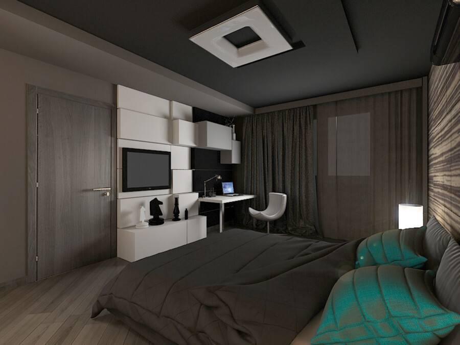 Дизайн квартиры для холостяка: 50 фото идей