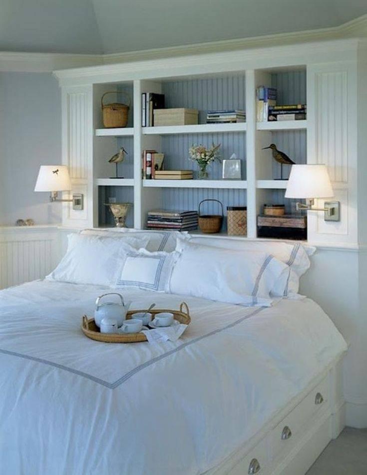 Как красиво оформить стены в спальне над кроватью – варианты оформления