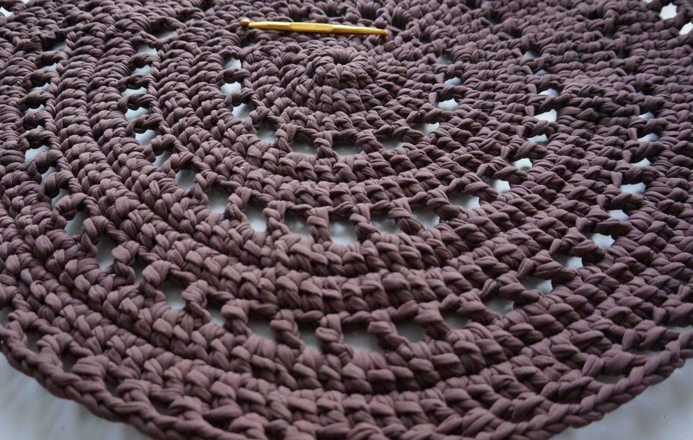 Вязание крючком ковриков на пол | самоделки на все случаи жизни - notperfect.ru