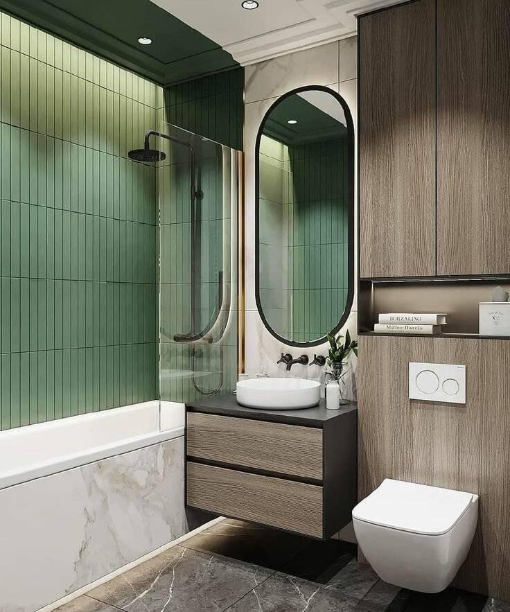 Идеи дизайна ванной - советы как своими руками сделать стильный и красивый дизайн для ванной (110 фото)