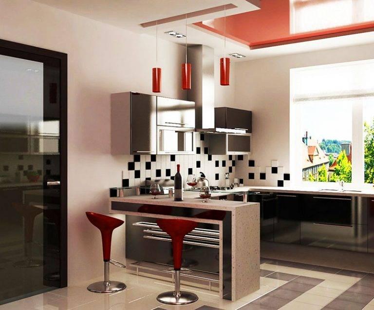 Кухня в стиле хай-тек - 120 фото новинок с интересными идеями!