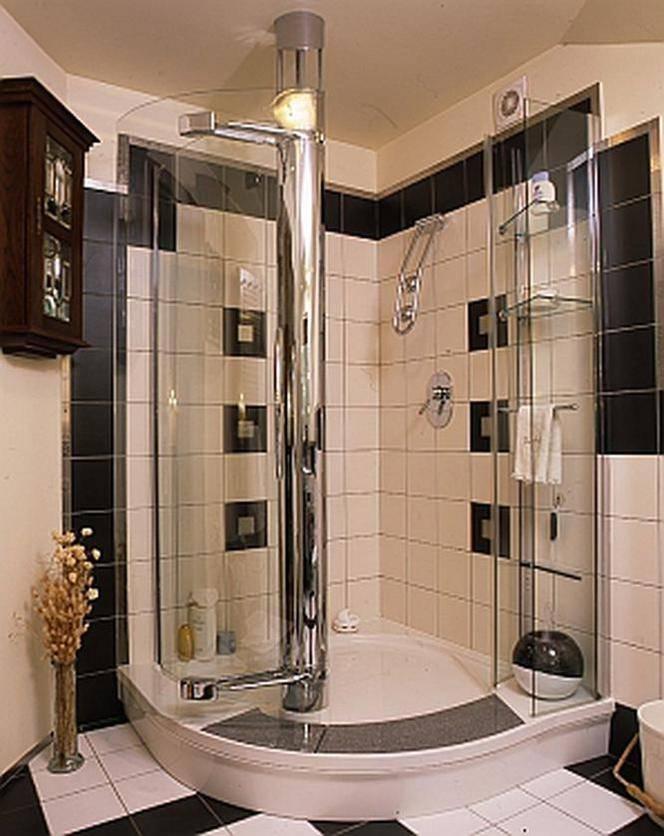 Душевая кабина в маленькой ванной: характеристики и фото