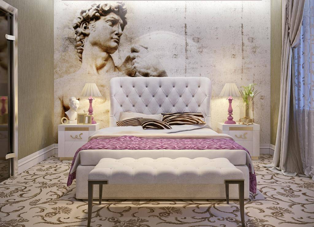 Варианты дизайна интерьера спальни в стиле арт-деко