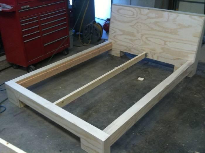 Как сделать из дерева кровать своими руками: инструкция