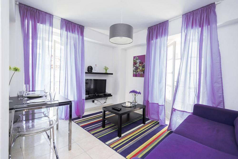 Фиолетовые шторы в интерьере — 70 фото лучших идей современного дизайна. рекомендации опытных мастеров!