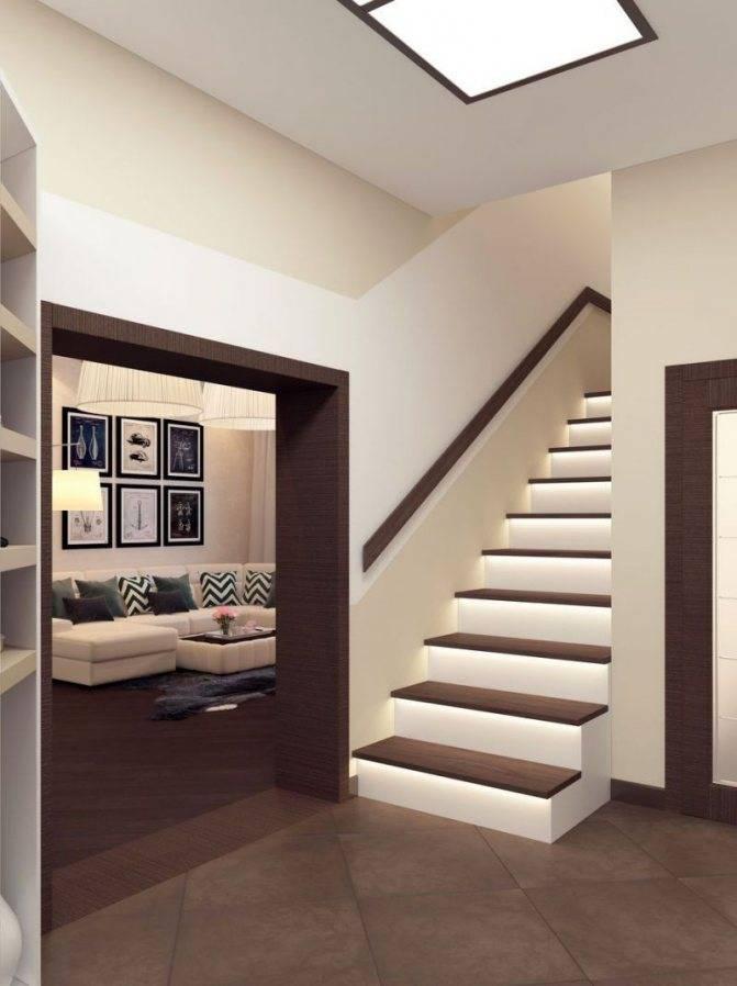 Дизайн коридора с лестницей в частном доме: советы и рекомендации