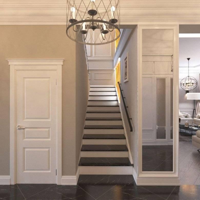 Принципы оформления интерьера холла частного дома