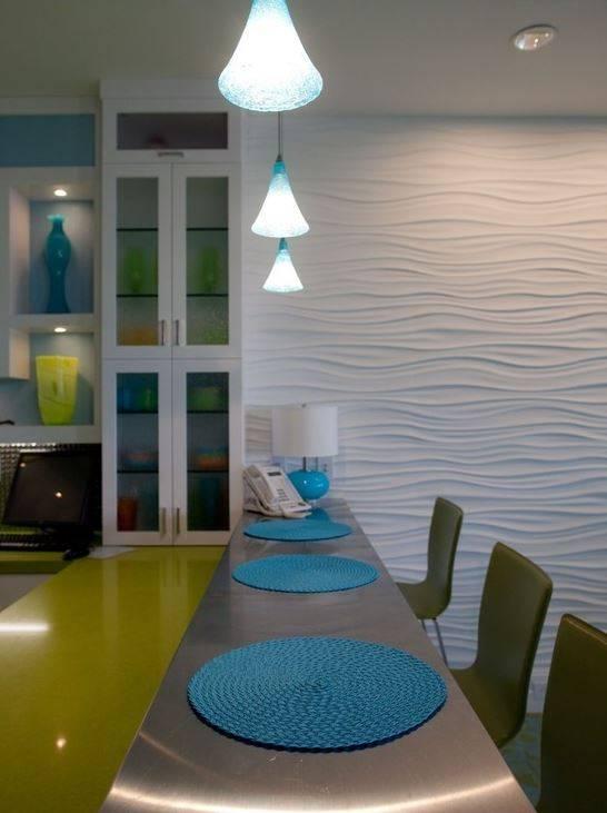 Оформление стен на кухне: 67 фото, креативные и актуальные варианты отделки