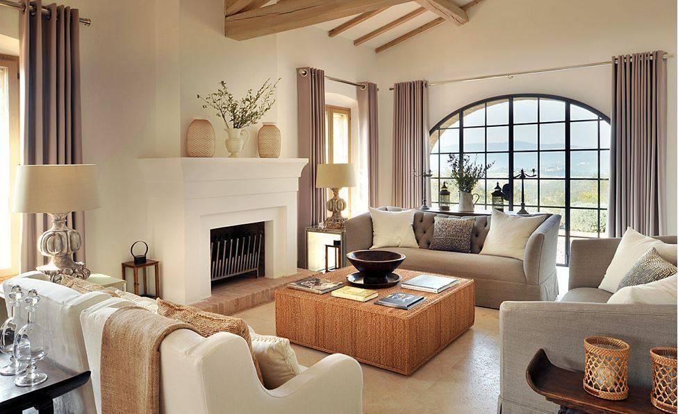 Классика и современность итальянской гостиной