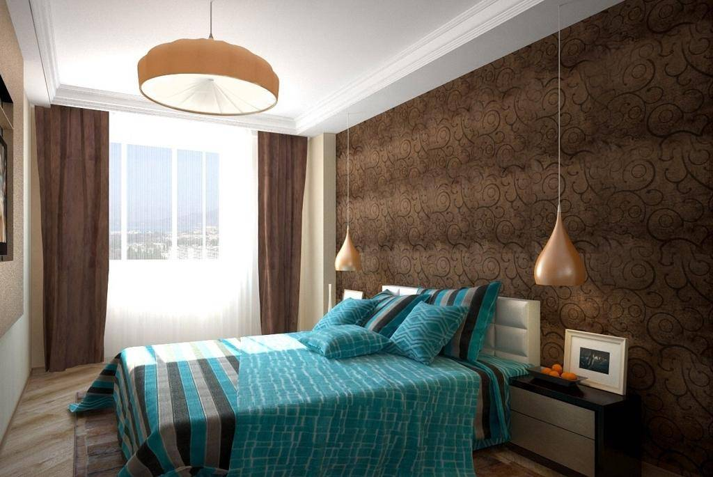 Коричневая спальня: 120 фото эксклюзивного дизайна в спальне