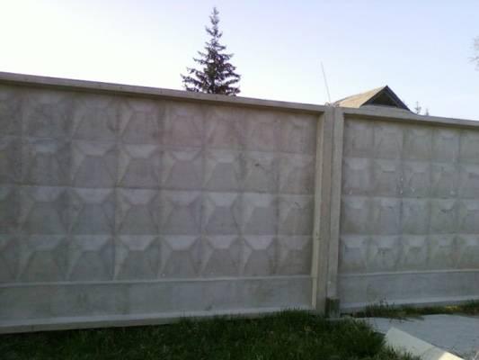 Секционный бетонный забор: этапы монтажа, преимущества