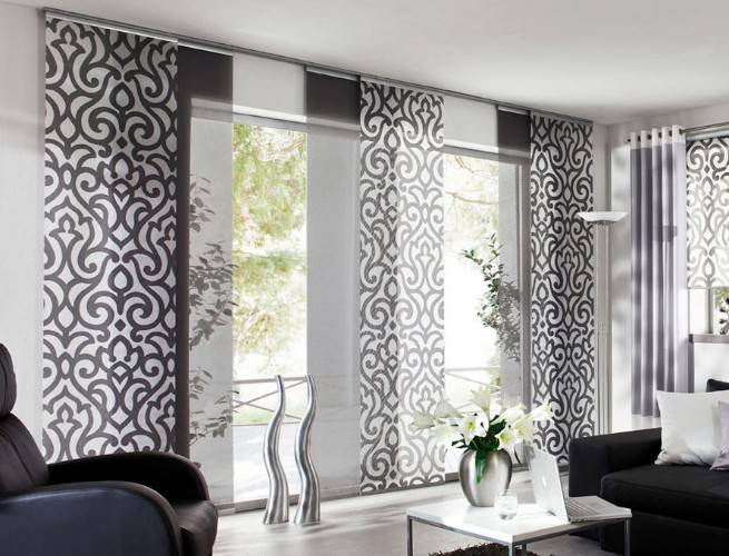 Варианты выбора стиля и цвета штор для гостиной комнаты