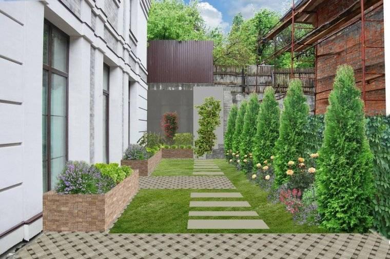 Озеленение участка: красивые идеи, планировка и благоустройство участка