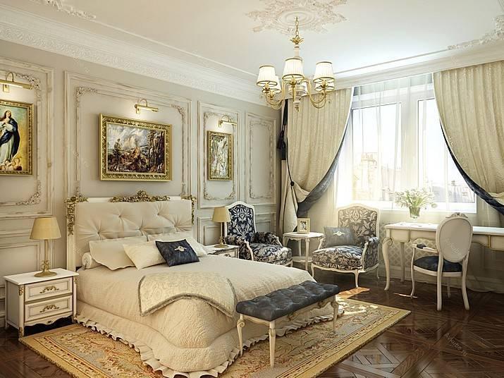 Как оформить спальню в классическом стиле?