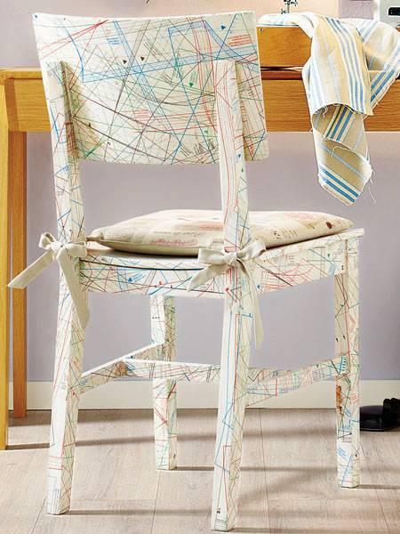Обновляем старые стулья: 4 мастер-класса, 70 фото до и после, идеи