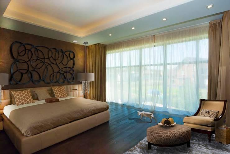Варианты оформления дизайна спальни в квартире и частном доме