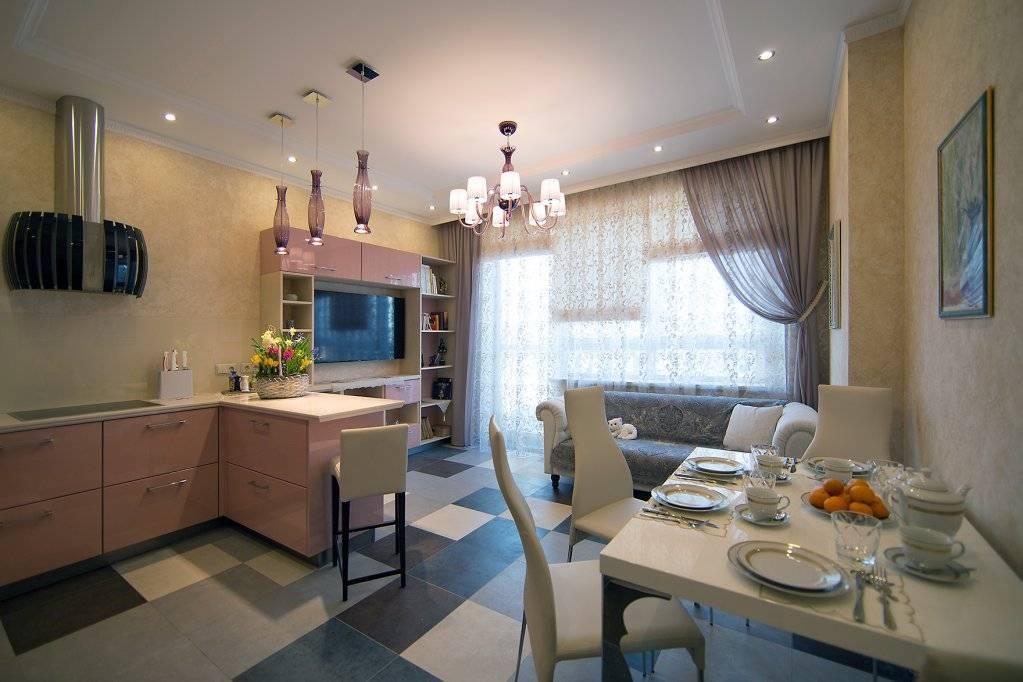 Кухня-гостиная 13 кв. м (37 фото): дизайн, примеры планировки с диваном