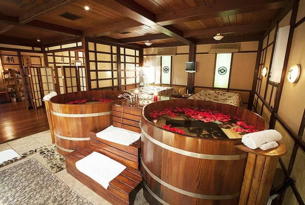 Японская баня — офуро и фурако