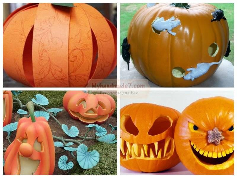 35+ идей, как сделать тыкву на хэллоуин своими руками