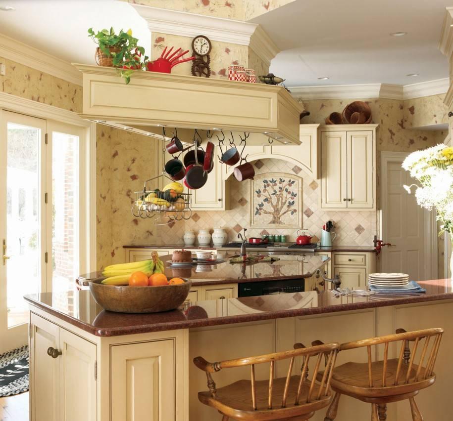 Особенности дизайна кухни в деревенском стиле