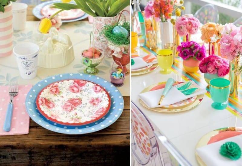 Как украсить стол на день рождения или праздник