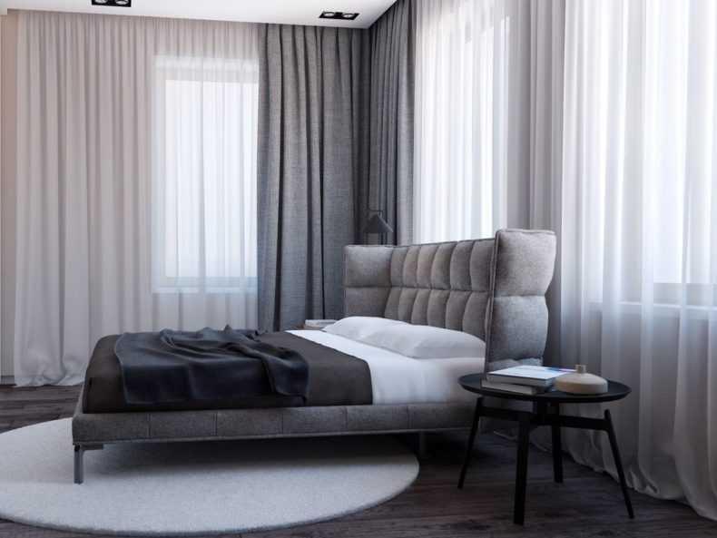 Элегантные коричневые шторы в интерьере: лучшие примеры с фото