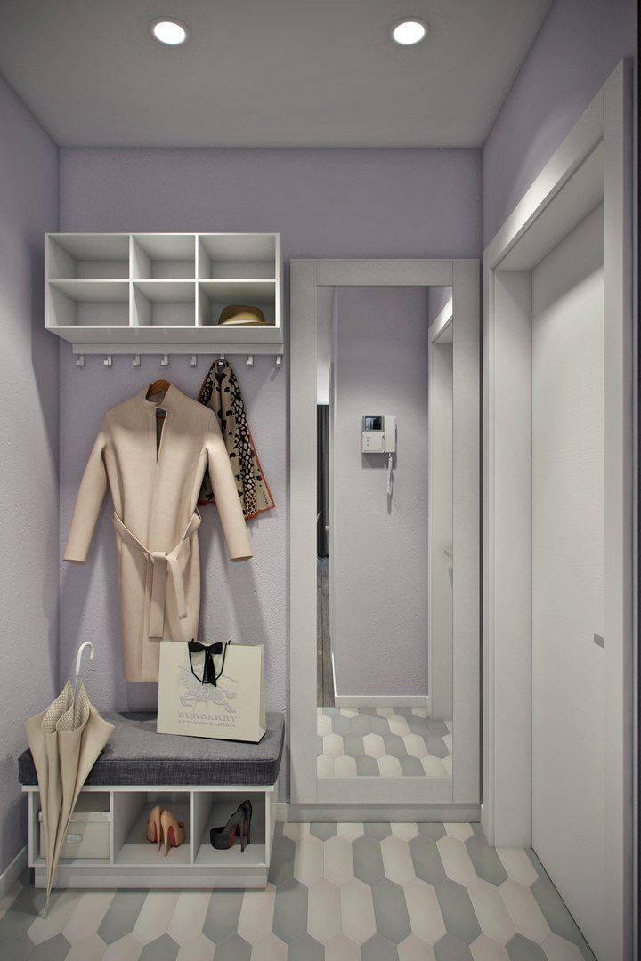 Удачные варианты дизайна гардеробных комнат в коридоре