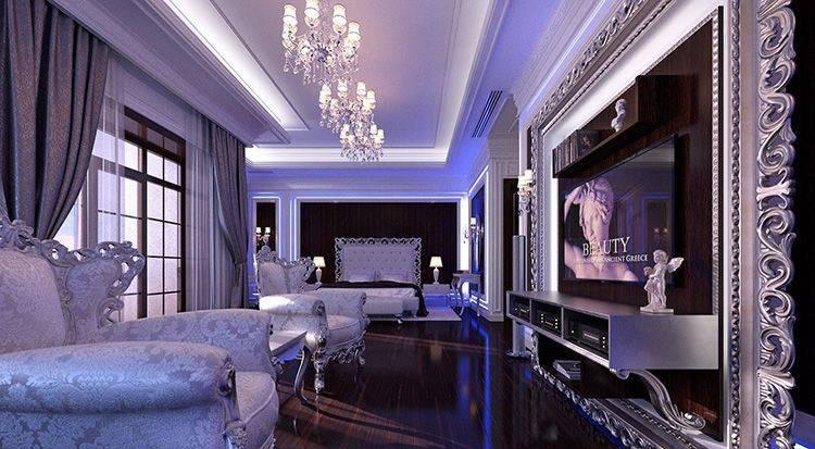 Интерьер квартиры в гламурном стиле: фото подборка интерьеров